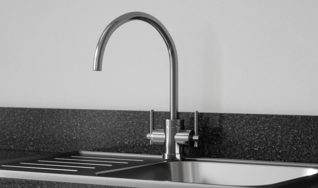 Bottled water on tap with the Homestyle water filter tap